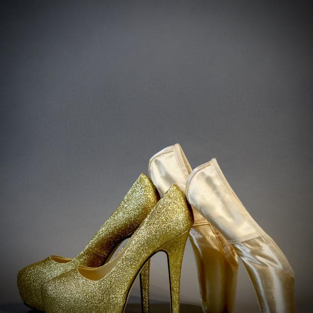 """Shoe Stories : Fashiance"" stock image"