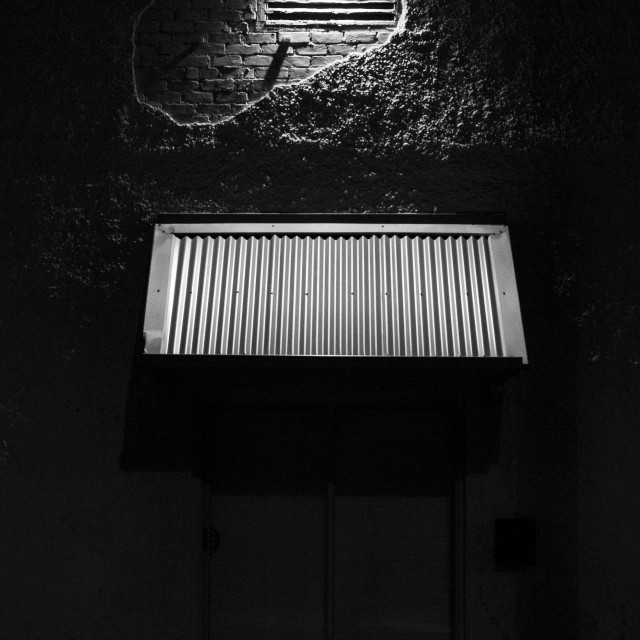 """Light and Corrugation"" stock image"