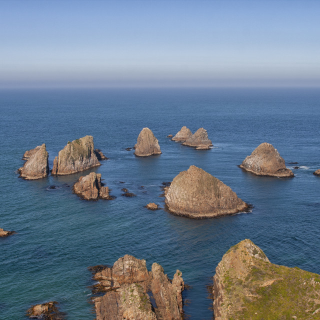 """""""Nugget Point, New Zealand"""" stock image"""