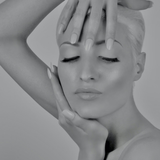 """Beauty Portrait : Bare Essentials"" stock image"