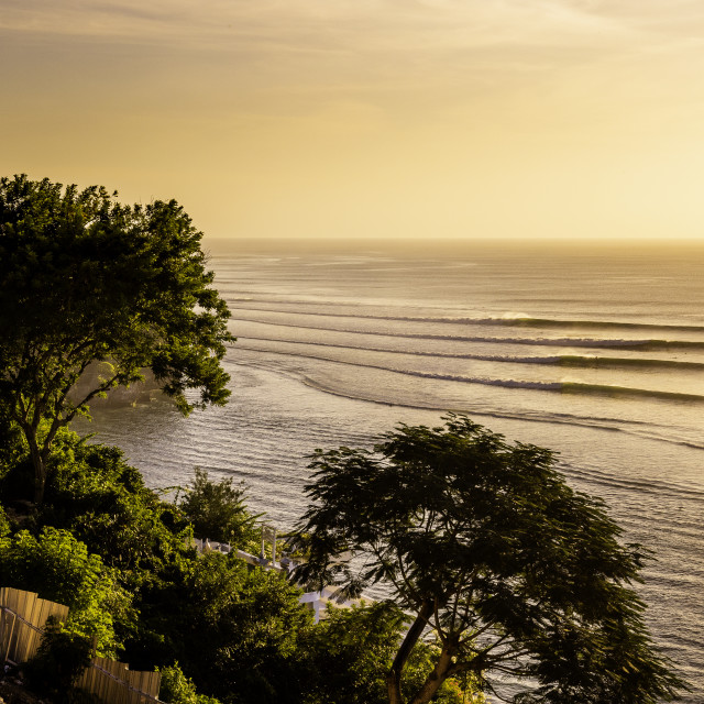 """""""Sunset impossibles Bali"""" stock image"""