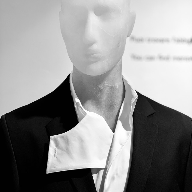 """The faceless mannequin"" stock image"