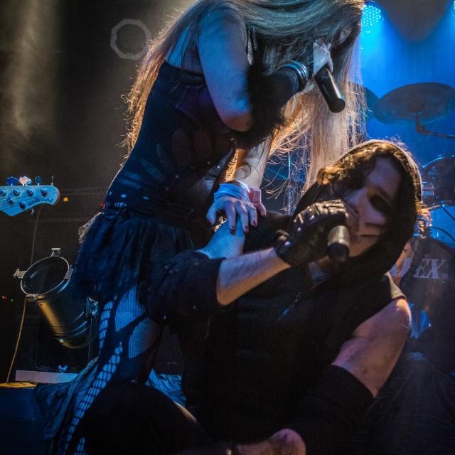 """JTR Sickert at Midian Live (Cremona) 06-05-2017"" stock image"