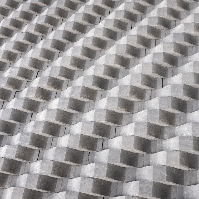 """""""Abstract Architecture Concrete Detail"""" stock image"""