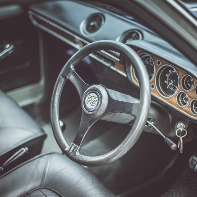 """Mk1 Ford Escort"" stock image"
