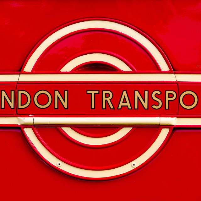 """London Transport Bus Logo"" stock image"