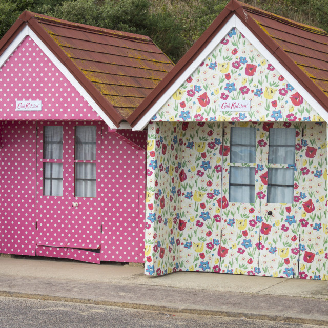 """Cath Kidson Design Beach Hut"" stock image"