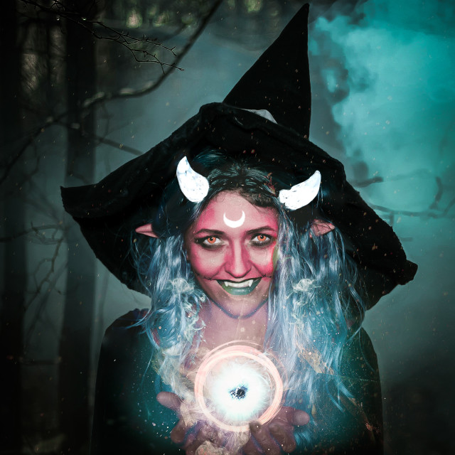 """Witch Cosplay"" stock image"