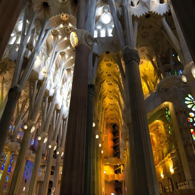 """Sagrada Familia:2"" stock image"