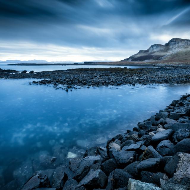 """""""Duirinish peninsula, Glendale, Neist Point, Isle of Skye, Scotland, United Kingdom"""" stock image"""
