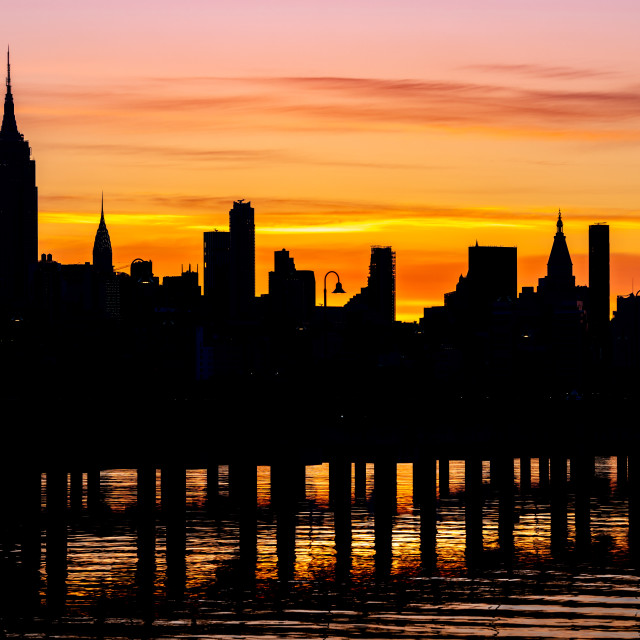 """Good Morning New York City"" stock image"