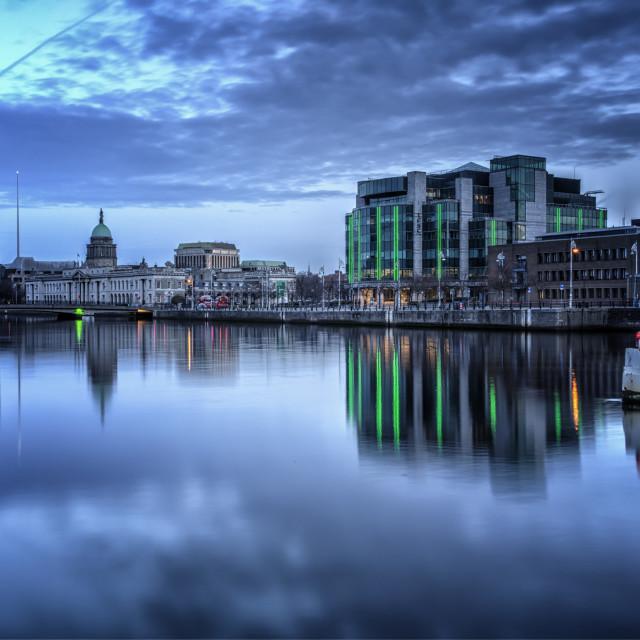 """""""Dublin Morning"""" stock image"""