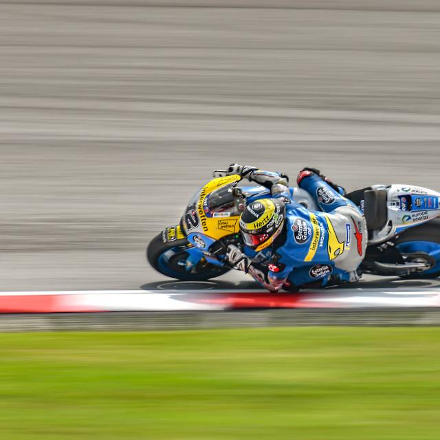 """MotoGP Action 03"" stock image"