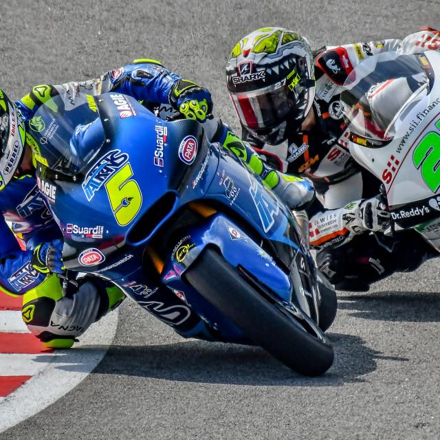 """MotoGP Action 05"" stock image"