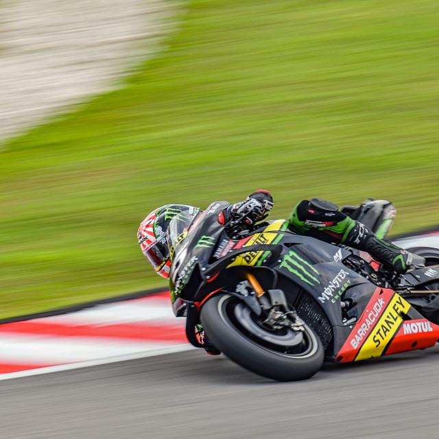 """MotoGP Action 04"" stock image"