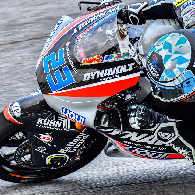 """MotoGP Action 01"" stock image"