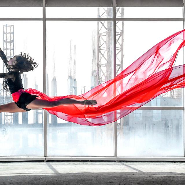 """""""Ballerina Pano 01"""" stock image"""