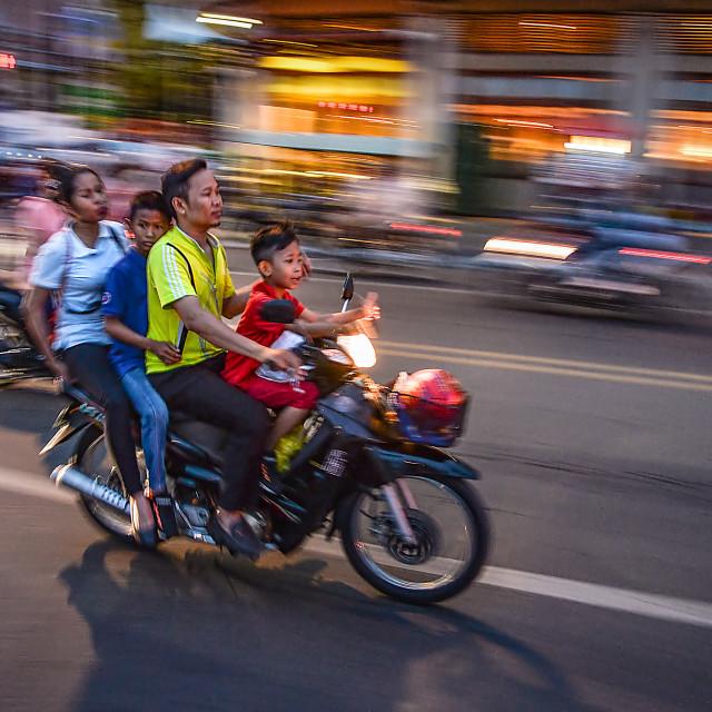 """Phnom Penh life 04"" stock image"