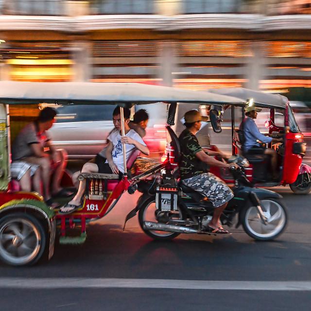 """Phnom Penh life 05"" stock image"