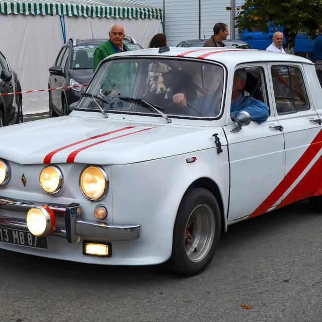 """Old Renault car"" stock image"
