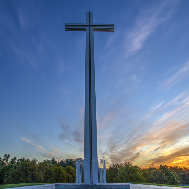 """""""The Papal Cross"""" stock image"""