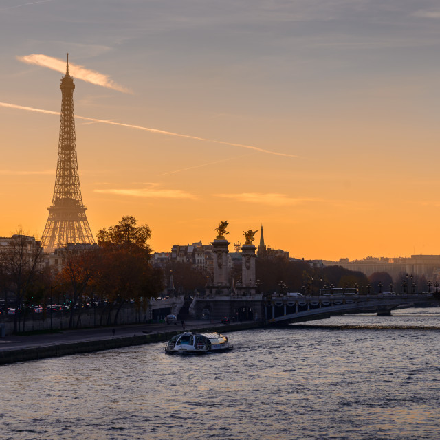 """""""La Tour Eiffel 1/3"""" stock image"""