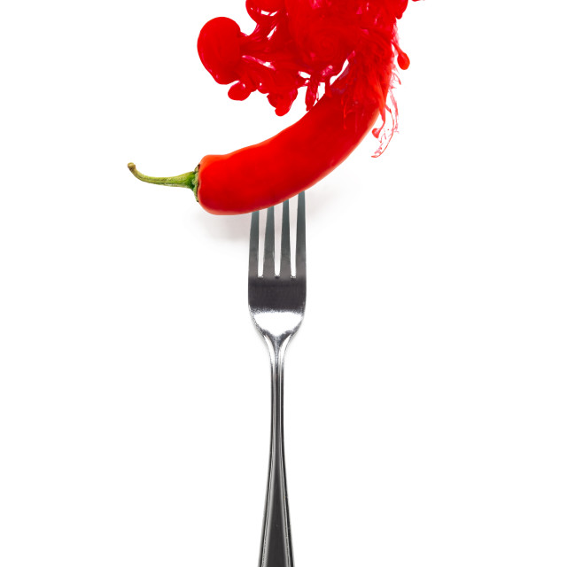 """Red Hot Chilli Pepper"" stock image"