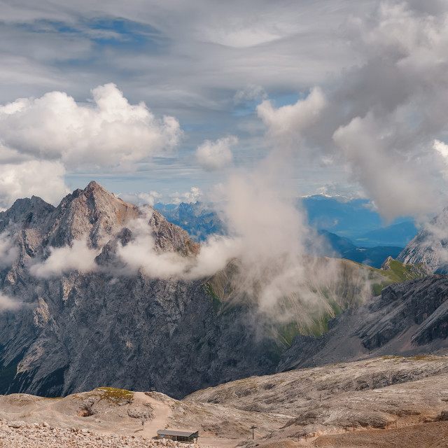 """German Alps"" stock image"