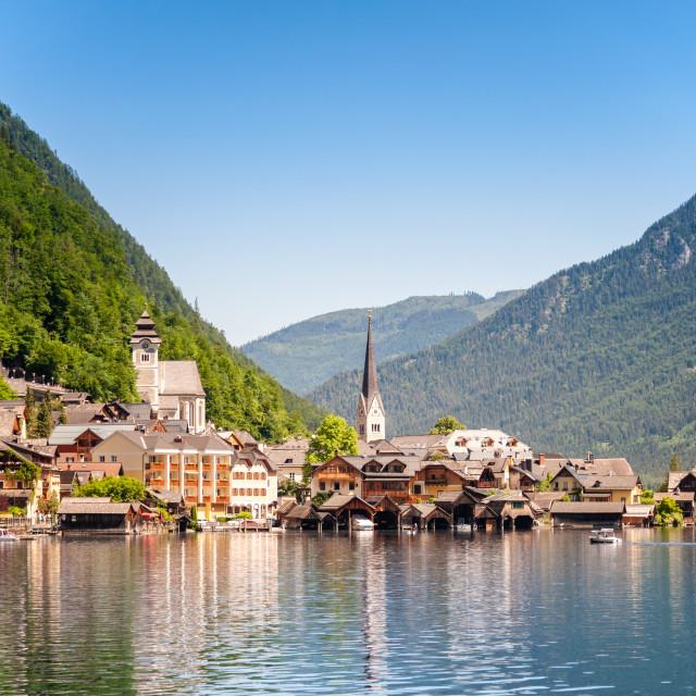"""Hallstatt, Austria"" stock image"