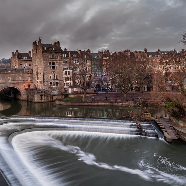 """Bath city, England"" stock image"