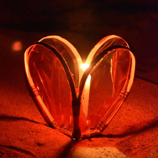 """""""Heart Light"""" stock image"""