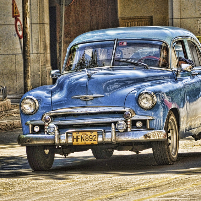 """Car of Cuba"" stock image"