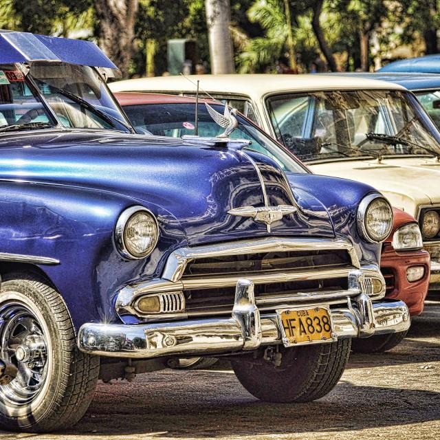 """""""Cuba Cars"""" stock image"""