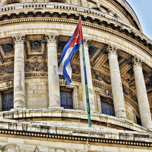 """Capital building Cuba"" stock image"