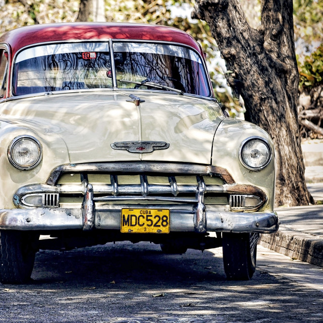"""Cuban Cars"" stock image"