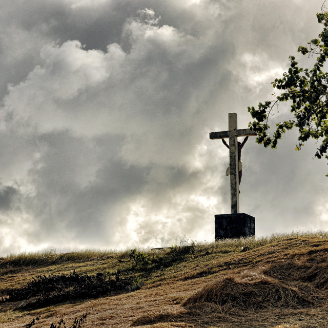 """The Cross"" stock image"