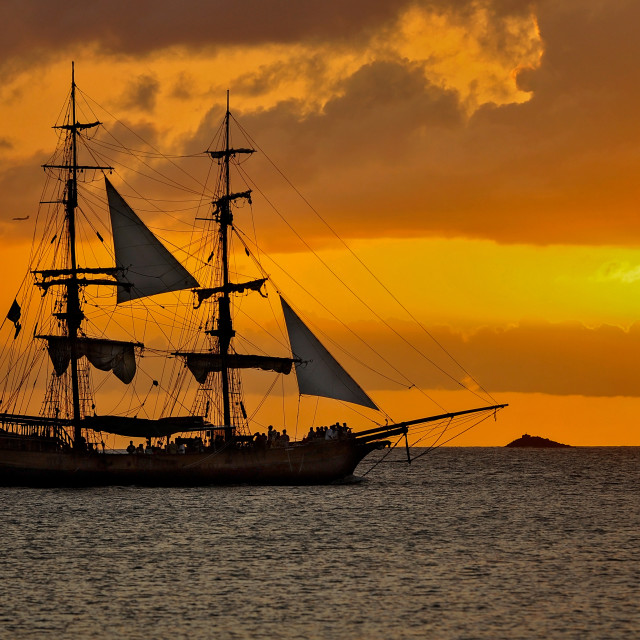 """""""Pirates of the Caribbean"""" stock image"""