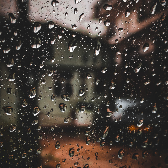 """Rainy day"" stock image"