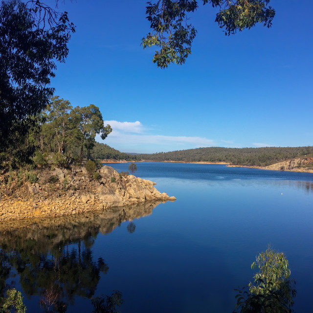 """""""Sawyers valley in Western Australia, Lake CY o Connor"""" stock image"""