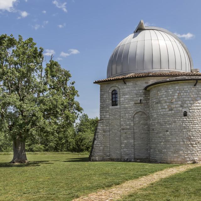 """Astronomical observatory, Tican - Visnjan, Istria, Croatia"" stock image"