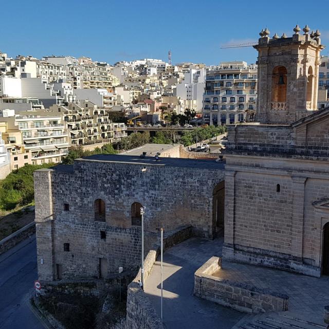 """Santa Maria, Malta"" stock image"