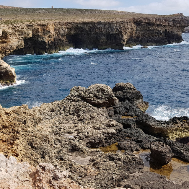 """Maltese Cliffs"" stock image"