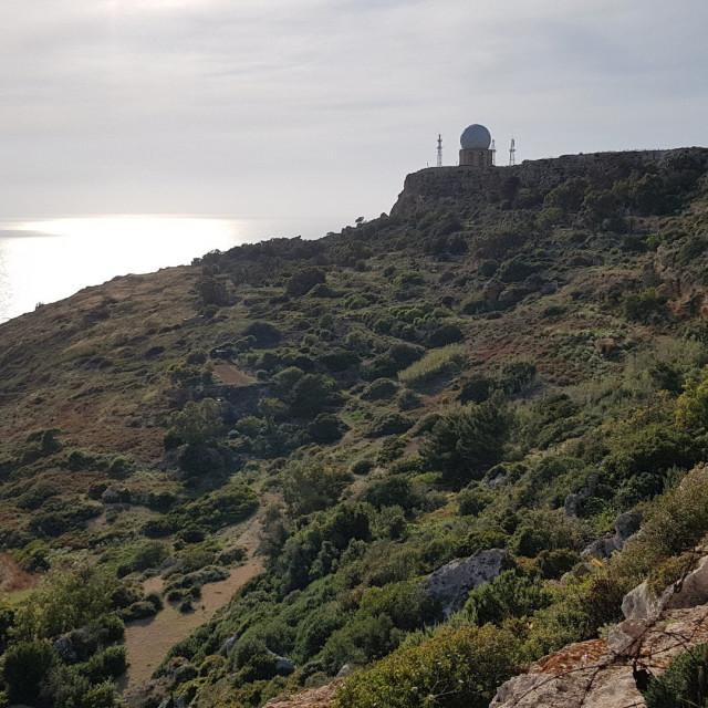 """Dingli Cliffs, Malta"" stock image"