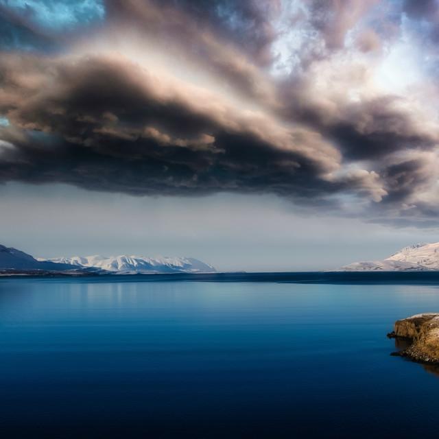 """Eyjafjörður"" stock image"
