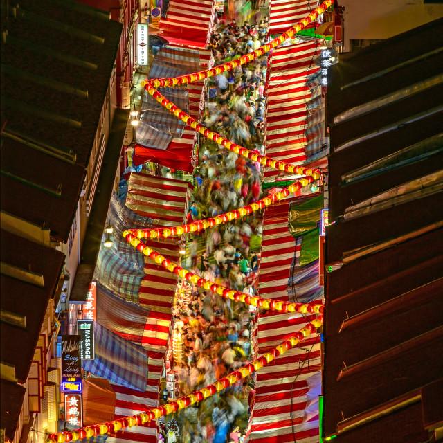 """""""Chinatown 02"""" stock image"""