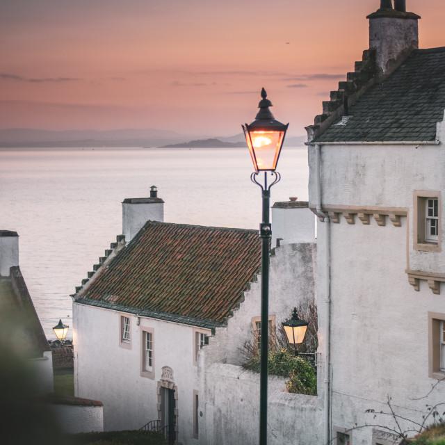 """Dysart, Scotland"" stock image"