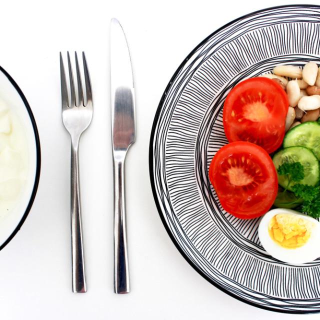 """Breakfast egg dish"" stock image"