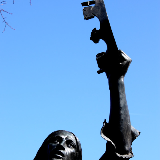 """""""Richard III statue in Leicester"""" stock image"""