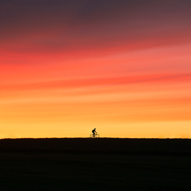 """Sunset Cycle"" stock image"