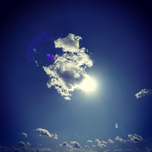 """""""CloudSun"""" stock image"""